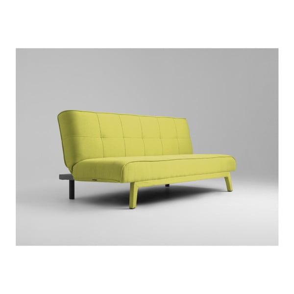 Žlutá rozkládací dvoumístná pohovka Custom Form Modes