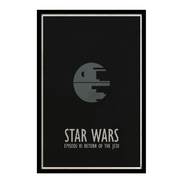 Plakát Star Wars VI, 35x30 cm