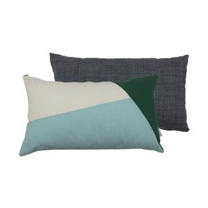 Set 2 perne Karup Deco Cushion Pattern/Dark Grey, 45 x 25 cm