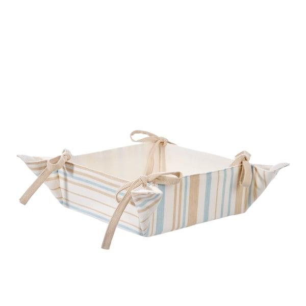 Košík na pečivo Stripe Beige
