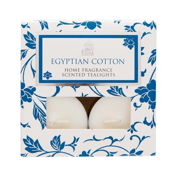 Čajové svíčky Spring Couture 8 ks, aroma egyptská bavlna