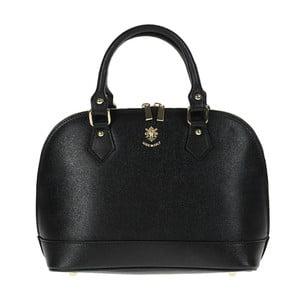 Černá kožená kabelka Giulia Bags Mimi