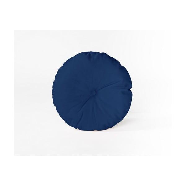 Klein kerek díszpárna bársony huzattal, ⌀ 45 cm - Velvet Atelier
