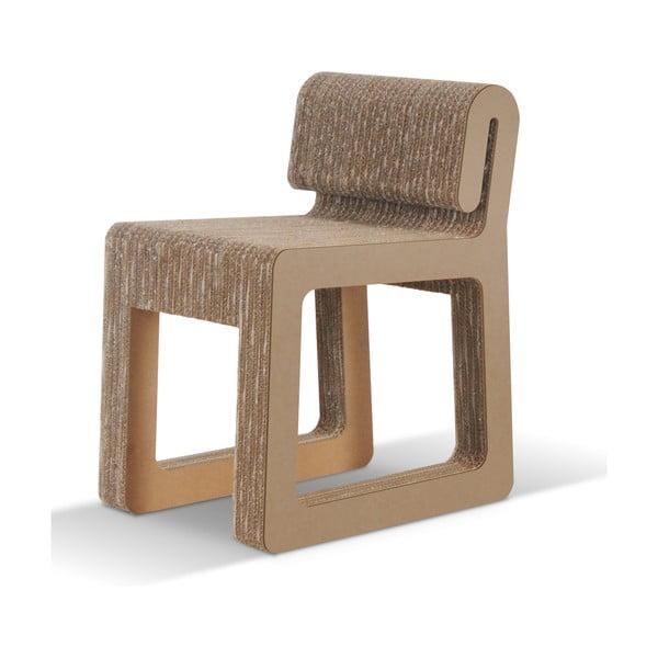 Kartonová židle Hook Natural