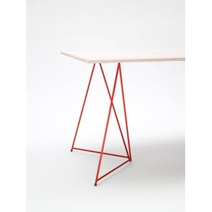 Podnož ke stolu Diamond Red, 70x55 cm