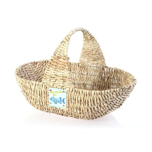 Proutěný košík Wicker Basket, 44 cm
