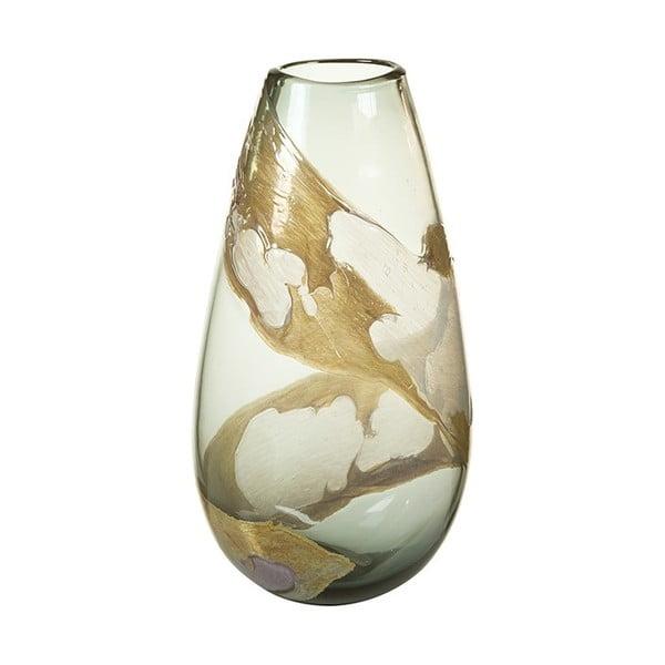 Wazon kryształowy wykonany ręcznie SantiagoPons, wys. 37 cm