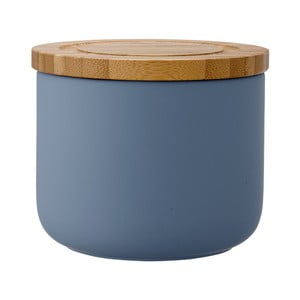 Recipient din ceramică Ladelle Stak, înălțime 9 cm, albastru
