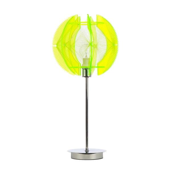 Stolní lampa Wire, zelená