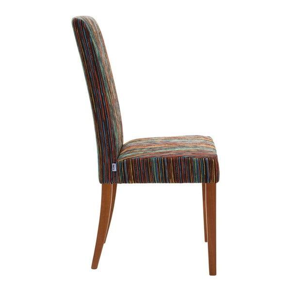 Sada 4 hnědých jídelních židlí Kare Design Art House
