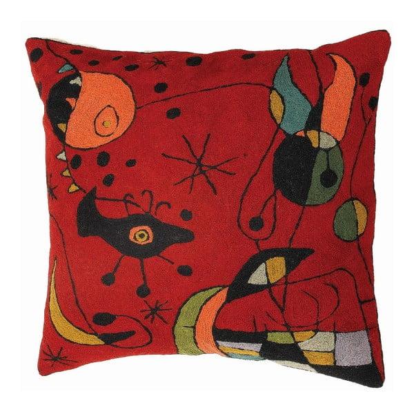 Povlak na polštář Miro Red, 45x45 cm