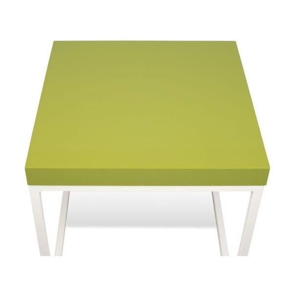 Odkládací stolek se zelenou deskou TemaHome Prairie