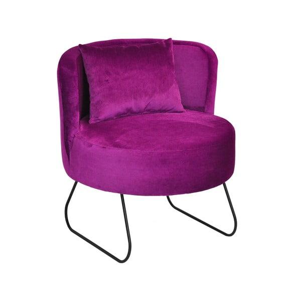 Křeslo Lever, fialové
