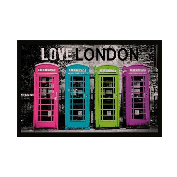 Rohožka Love London, 40x60 cm