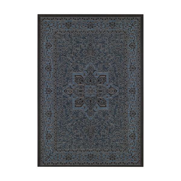 Čierno-sivý vonkajší koberec Bougari Anjara, 200 x 290 cm