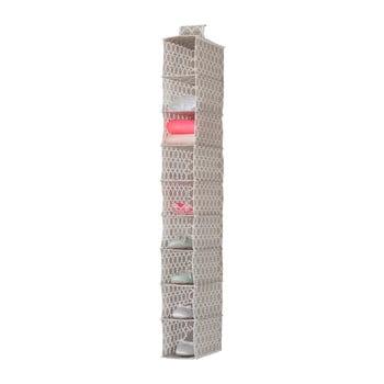 Organizator suspendat cu 9 compartimente Compactor, lățime 15 cm