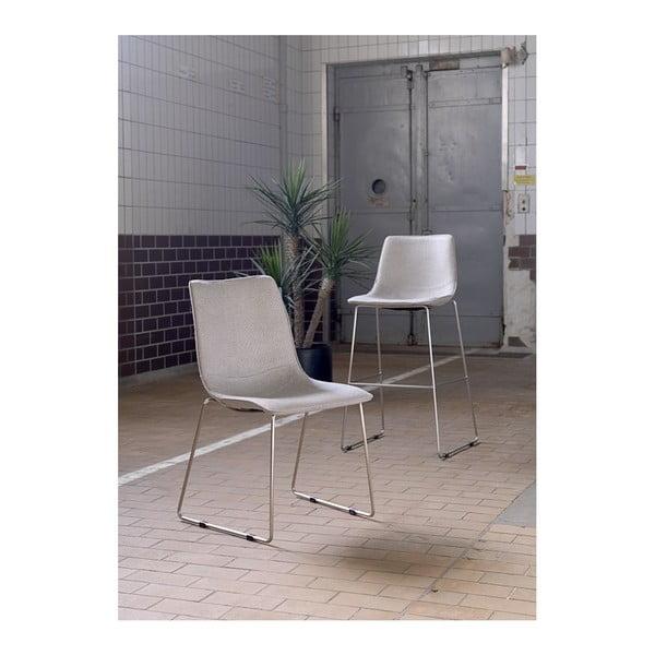 Sada 4 šedých židlí Canett Delta