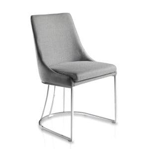 Šedá jídelní židle Ángel Cerdá Imelda