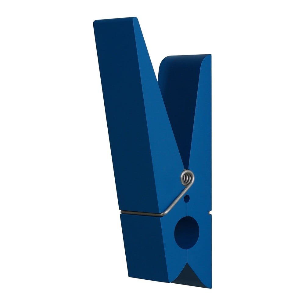 Modrý věšák ve tvaru kolíčku Swab
