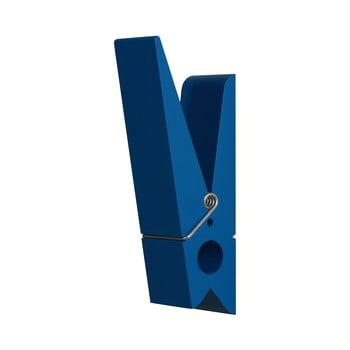 Cuier în formă de cârlig de rufe Swab, albastru