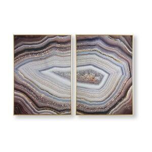 Sada 2 obrazů Graham & Brown Glamorous Gems, 50 x 70 cm