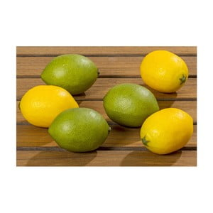 Set 6 lămâi decorative Boltze Lemon