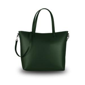 Zelená kabelka z pravé kůže JOHN FISH Crown