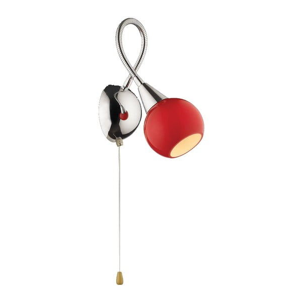 Nástěnné svítidlo Evergreen Lights Red Retro