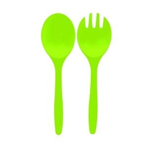 Salátový mini příbor Zak, zelený