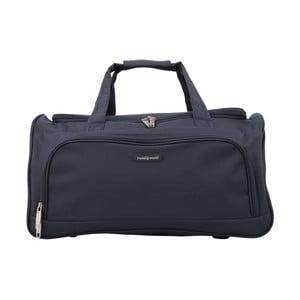 Tmavě modré příruční zavazadlo Travel World, 36l