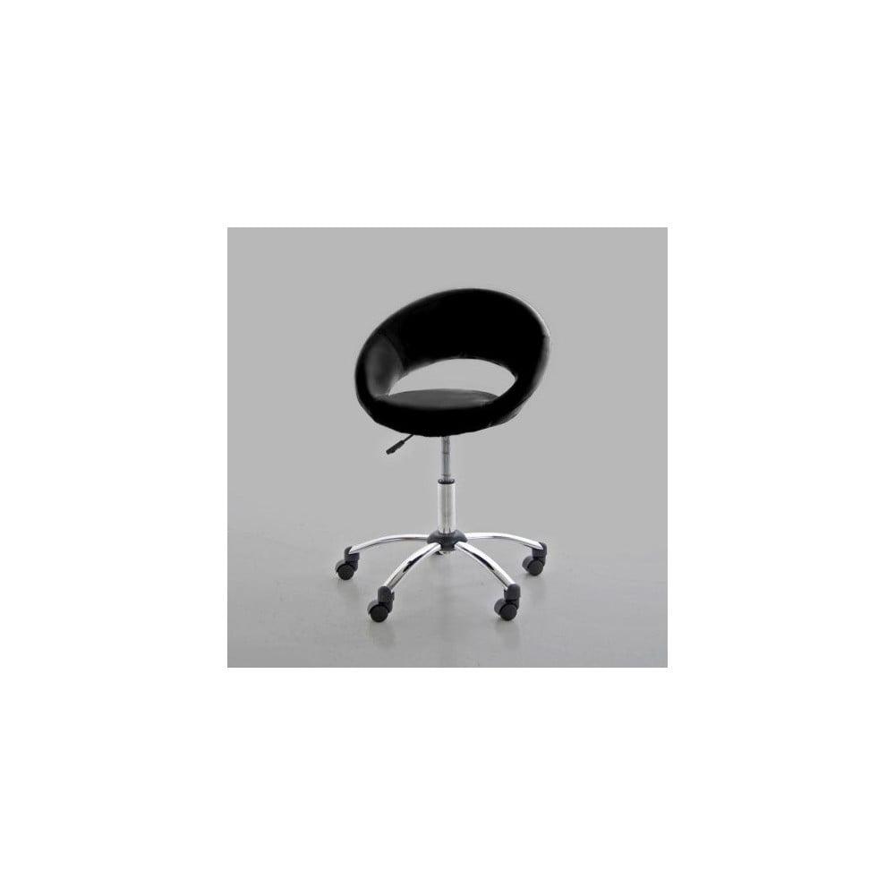 Černá kancelářská židle Actona Plump Büro