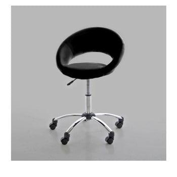 Scaun de birou Actona Plump, negru imagine