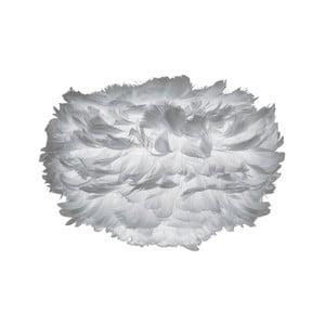 Abajur cu pene de gâscă VITA Copenhagen EOS, Ø 35 cm, gri