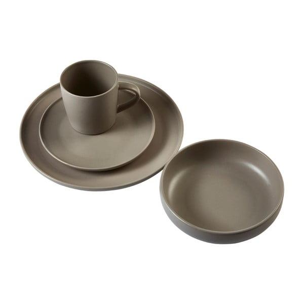 Hnědá kameninová mísa Premier Housewares Malmo, Ø 18 cm