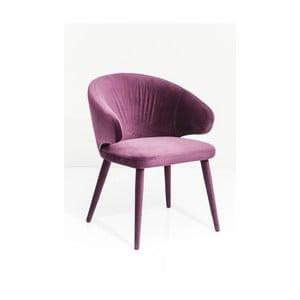 Fialová židle Kare Design Purple Rain