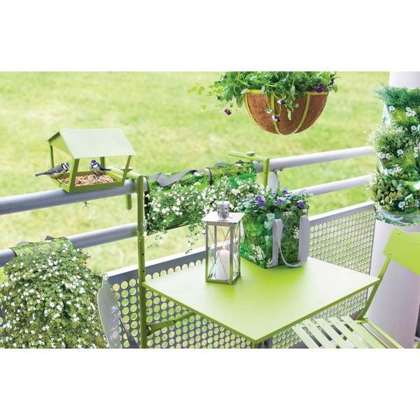 Skládací jídelní stolek na balkón Nature, zelený