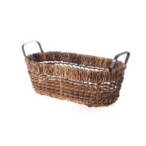 Proutěný košík Oval Wicker, 47 cm