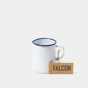 Bílý smaltovaný džbán Falcon Enamelware OnePint, 586 ml
