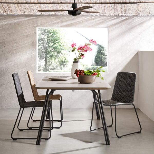 Sada 4 béžových židlí La Forma Meggie