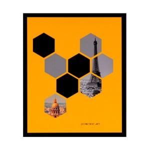 Tablou Sømcasa Hexag, 25 x 30 cm