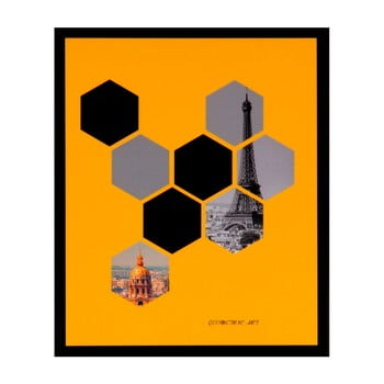 Tablou Sømcasa Hexag, 25 x 30 cm imagine