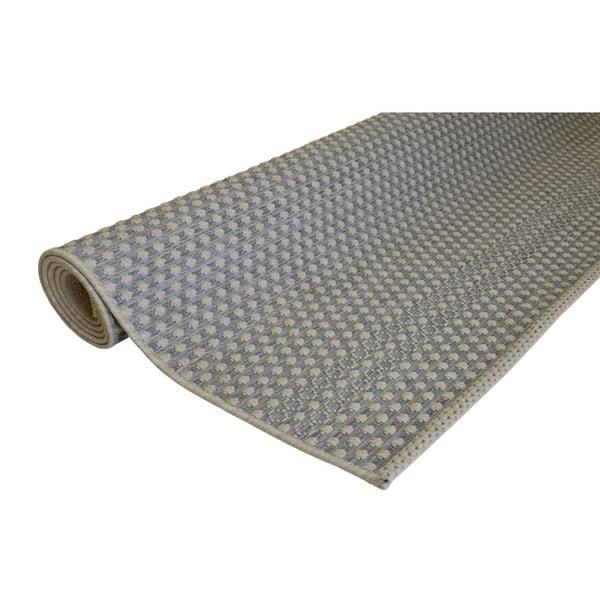 Covor potrivit pentru exterior Floorita Pallino Grey, 155 x 230 cm