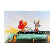 Obraz Žena v autě, 70x100 cm