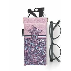 Pouzdro na brýle Makenotes Purple&Pale