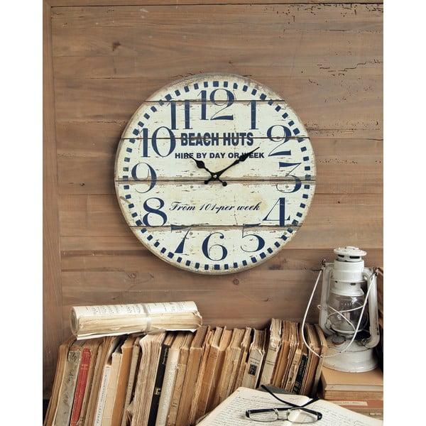 Nástěnné hodiny Beach Huts, 45 cm