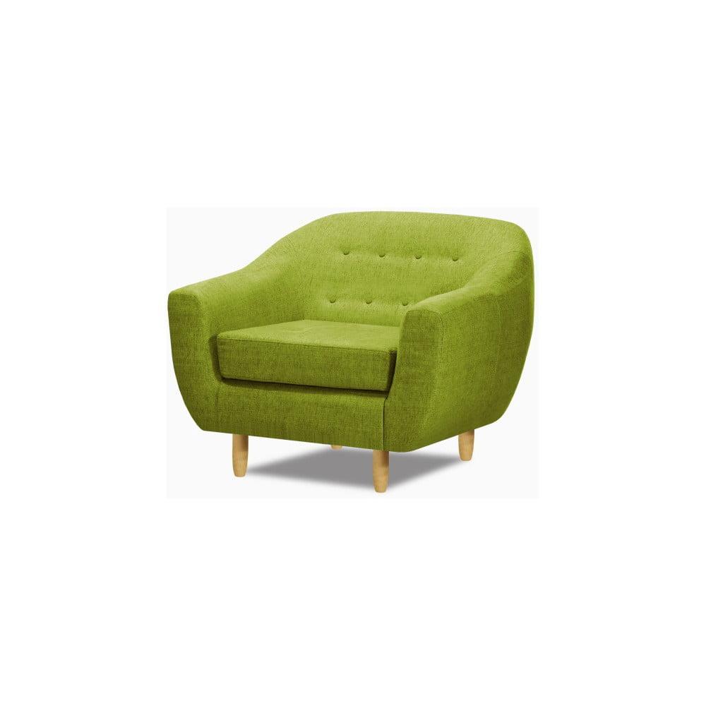 Zelené křeslo Wintech Akela
