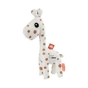 Chrastítko ve tvaru žirafy Done by Deer Raffi Gold