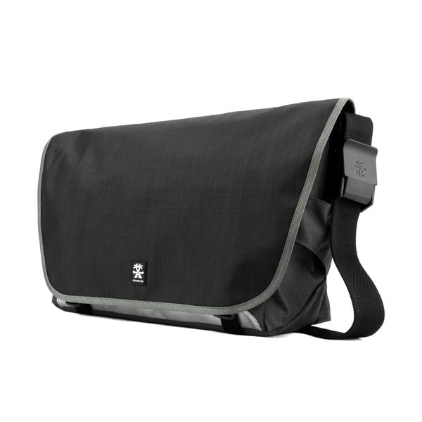 Brašna na laptop Dinky Di Laptop Messenger L, dull black/dk. mouse grey