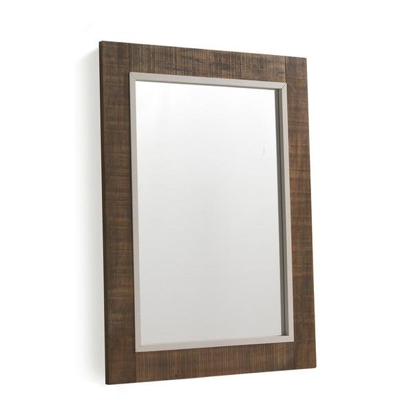 Rustic barna tükör, 60 x 80 cm - Geese