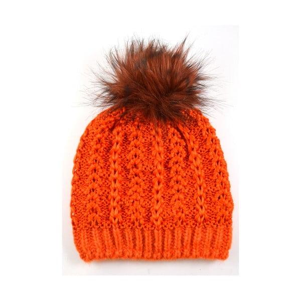 Dámská čepice Perlik Orange